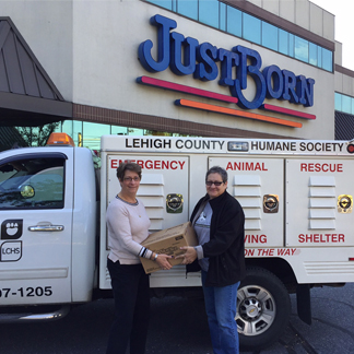 JustBorn Volunteers for the Lehigh Country Humane Society